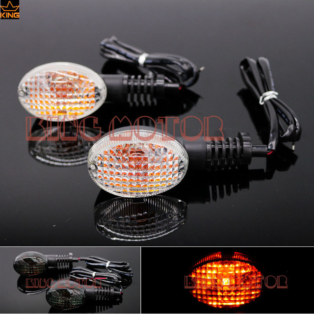 For YAMAHA XT660 XT660R XT660X 2004-2012 XT660Z 2008-2011 MT-03 2006-2010 Motorcycle Turn Signals Light Blinker Indicator Clear