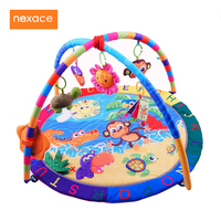 Baby Activity Play Mat Baby Gym Educational Fitness Frame Multi Bracket Baby Toys Game Mats