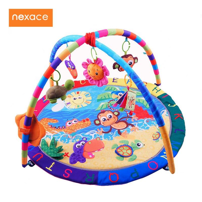 Activité de Jeu pour bébé Tapis Bébé Gym Éducatifs Fitness Cadre Multi-support Bébé Jouets Jeu Tapis