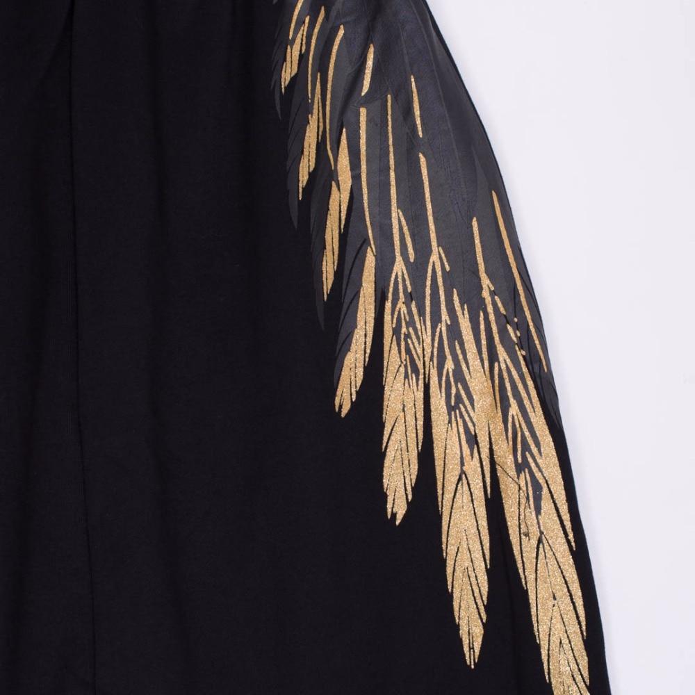 Cintura Pierna Del Poco Bronceado Haren Opresión Pantalones Impresión Jazmín Flojo Bf Grande Alas Alta Z56qqw4