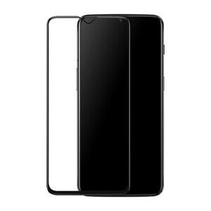 Image 2 - מקורי Oneplus 6T 3D מזג זכוכית מלא כיסוי מסך מגן התאמה מושלמת מעוקל קצה סופר קשה 9H ברור ציפוי Oleophobic