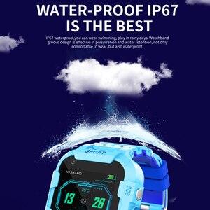 Image 5 - 696 df39z 4g 어린이 스마트 시계 gps 와이파이 추적기 smartwatch 터치 스크린 sos sim 전화 방수 어린이 선물 카메라 시계