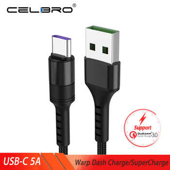 5A Type C Usb Cable Usb Quick Charge 3 0 5V 4A/3A/2A Usb Charger