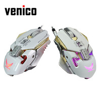 X300 Professional 3200DPI Optical Programmable Cool LED Light Wired Gaming Mouse For Windows 2000 XP 7
