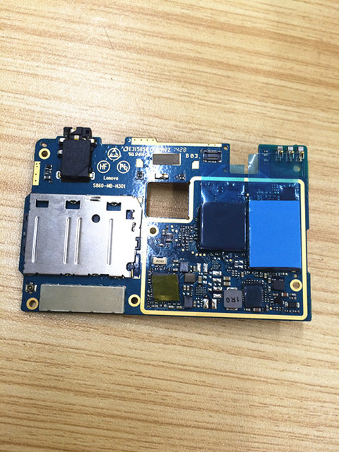 In Stock 100% Original Test Working For Lenovo S860 Motherboard Board Smartphone Repair Replacement With tracking number