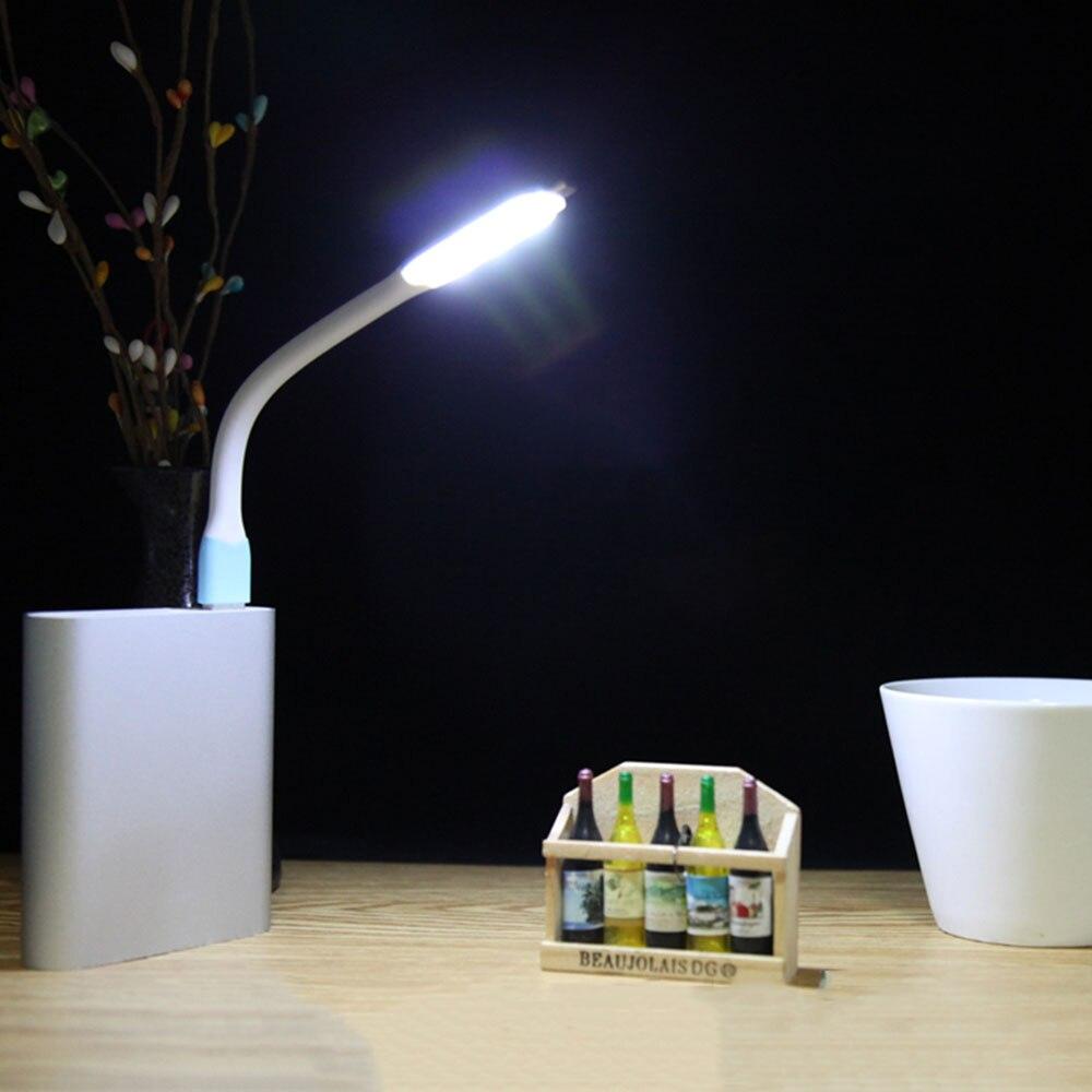 Mini Ultra Bright 5V 1.2W LED USB Light Lamp For Notebook Computer Laptop PC Portable Flexible Metal LED USB Light Foldable