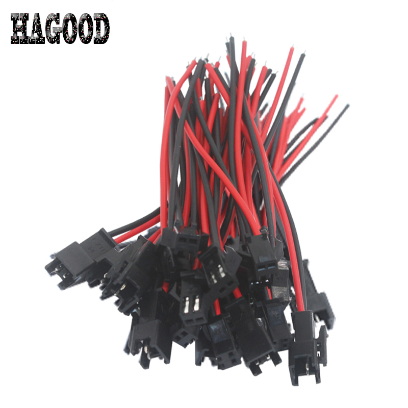 10 pairs 2 Way JST SM 2Pins Plug Male to Female Wire Connector Quick Connector Terminal Block Easy Fit for LED Strip 10cm Length 10 pairs 100mm 150mm 2pins 20awg jst connector plug cable male and female for rc plane battery