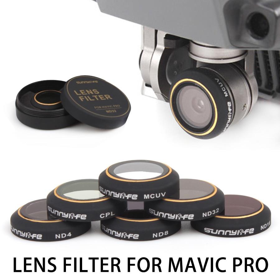 Filtro de lente de cámara ND4 ND8 ND16 ND32 CPL MCUV Filtro para DJI - Cámara y foto