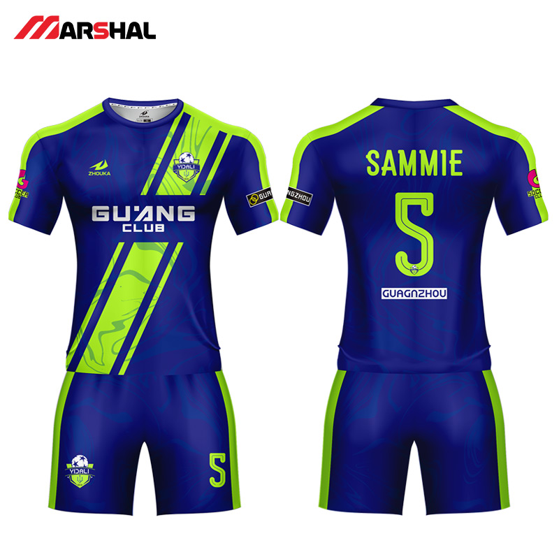 0ce0f64a34e 2019 new Popular design football team uniforms soccer shirt maker custom  jerseys for sale with your own logo any colorful