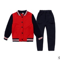 Boys and Girls School Uniforms Clothing Set 2018 Spring Children 's Class Uniforms Primary and Secondary School Students ly356