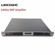 Leicozic Audio amplifier 1400w x2 DSP control 1u pro audio equipment high power digital amplificador de som audio amp switching(China)