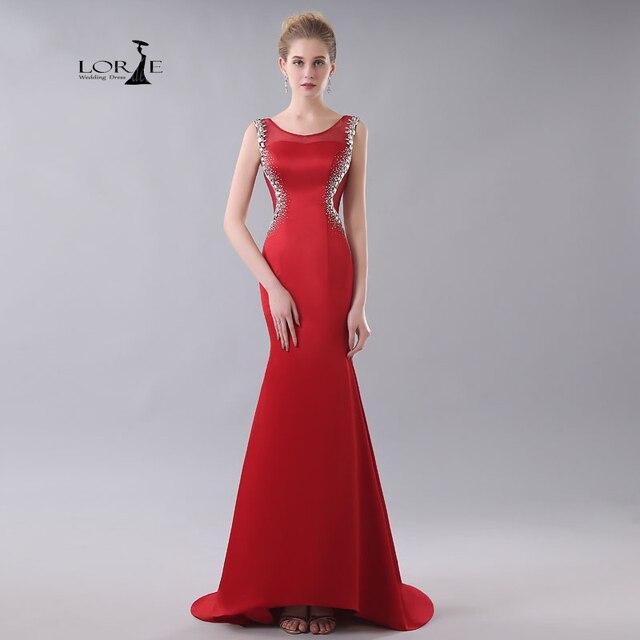 Kleid ruckenaubchnitt rot