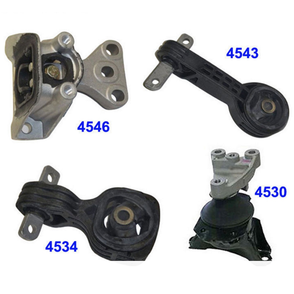 A4534 For 06-10 Honda Civic 1.8L AT Torque Strut Mount Lower Engine Motor Mount