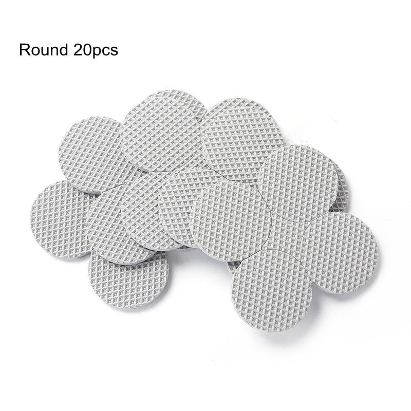 20-45pcs  Self Adhesive Furniture Leg Feet Rug Felt Pads Anti Slip Mat Bumper Damper For Chair Table Protector