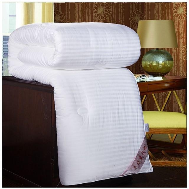 White Yelllow Pink Bedding Silk Blanket Applique Silk Quilt 100%Mulberry Silk Filler Cotton Fabric Cover Handmade Silk Comforter-in Comforters & Duvets from Home & Garden    2