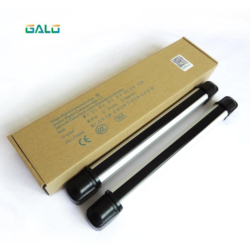 Gate sensor /a pair of Fence Alarm Photoelectric 4 beams 20m range/ infrared photobeam curtain/barrier sensor