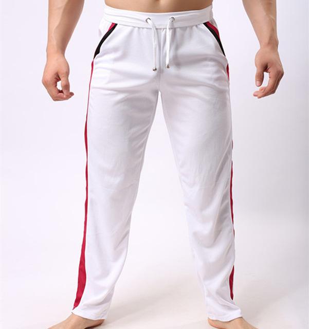 Joggers sweat casual para hombre macho pantalones Largos sueltos tira de poliéster ropa marcas Pantalones caseros de Invierno venta Caliente elástico de la cintura