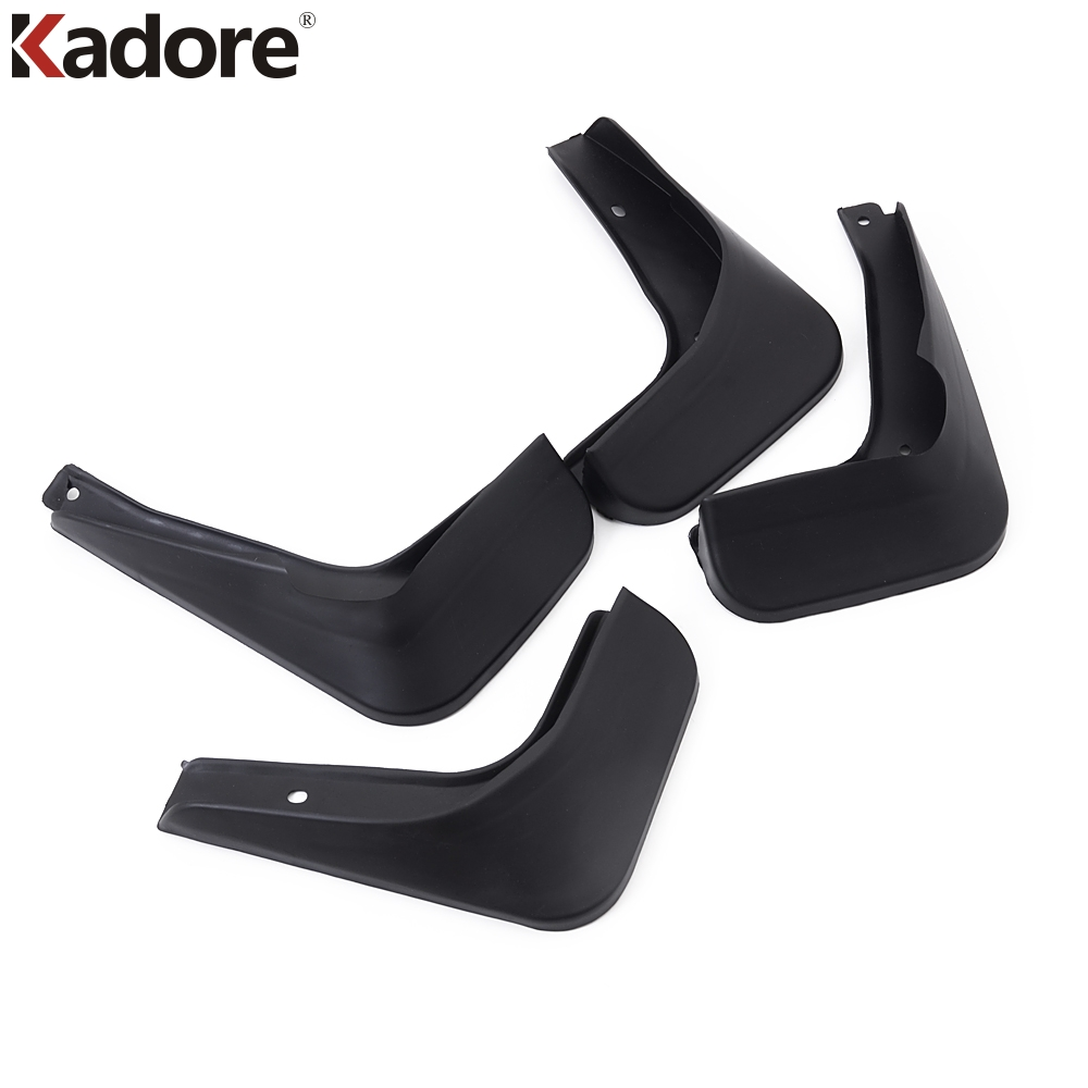 For Volkswagen <font><b>VW</b></font> POLO MK5 2010-2013 ABS Fender <font><b>Mudflap</b></font> Dash Board Mudguard Fender Flap Mud Flaps Splash Guards 4pcs/set image