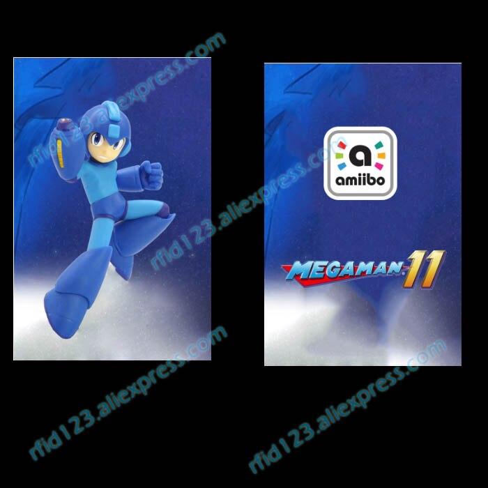 NFC Amiibo Printed NFC Card For Mega Man 11 Amiibo