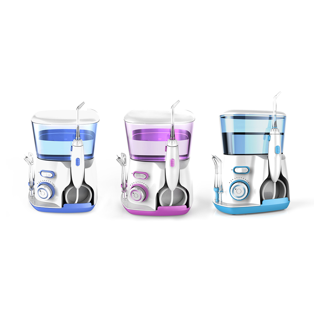 Oral Irrigator 5pcs Tips EU Plug V300G Dental Water Flosser Water Floss 800ml Teeth Whitening Oral Care Tools Oral Hygiene CareOral Irrigator 5pcs Tips EU Plug V300G Dental Water Flosser Water Floss 800ml Teeth Whitening Oral Care Tools Oral Hygiene Care