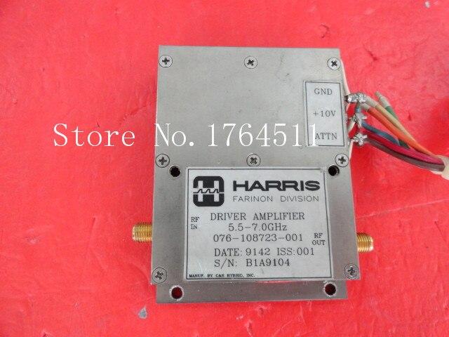 [BELLA] HARRIS 076-108723-001 5.9-7GHz 10V SMA Supply Amplifier