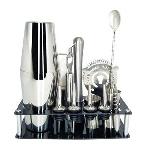 BROTHERNEMCO Set 13 Pieces Bartender Kit Cocktail Shaker