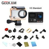 оригинал GEEKAM H3/H3R Экшн камеры 4K Ultra hd 1080P спорт видео камеры Подводная про waterproof go Mini видеокамера outdoor камера