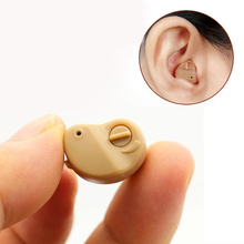 Mini Hearing Aid AXON K-80 Personal Sound Amplifier In Ear Volume Adjustable Audifonos Para Sordos Hear Clear for the Elderly axon f 22 wired in ear hearing aid set blue black 1 x aa