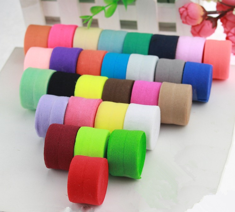 New Arrival 2cm Wide Nylon Spandex Webbing Bias Binding