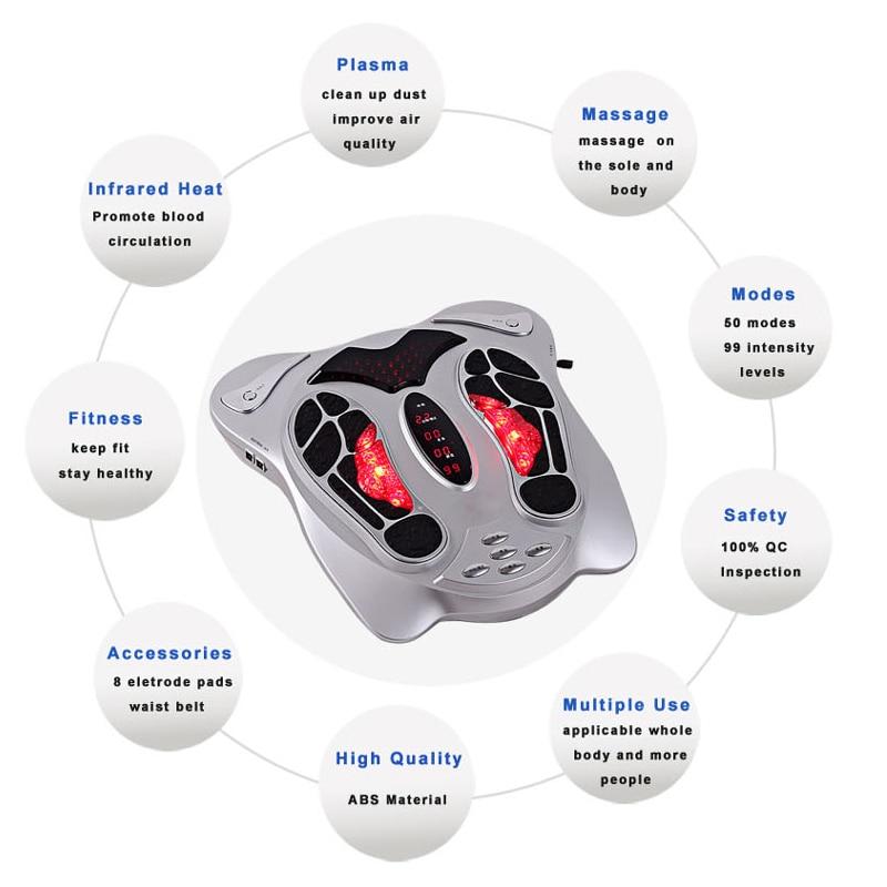 Electric-Acupuncture-Foot-Massager-Machine-Infrared-Heating-EMS-Pressure-Points-Slimming-Belt-Massage-Reflexology-Feet-Care