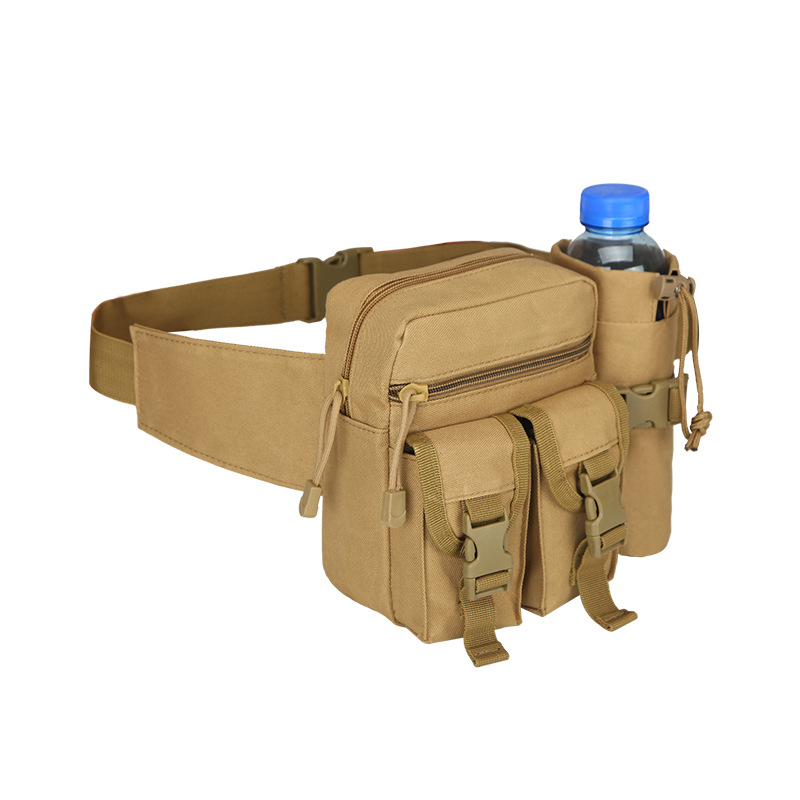 Abay Military Tactical Waist Bags Fanny Pack Water Bottle Pouch Waterproof Outdoor Sports Running Hunting Fishing Waist Bag|Climbing Bags| |  - title=