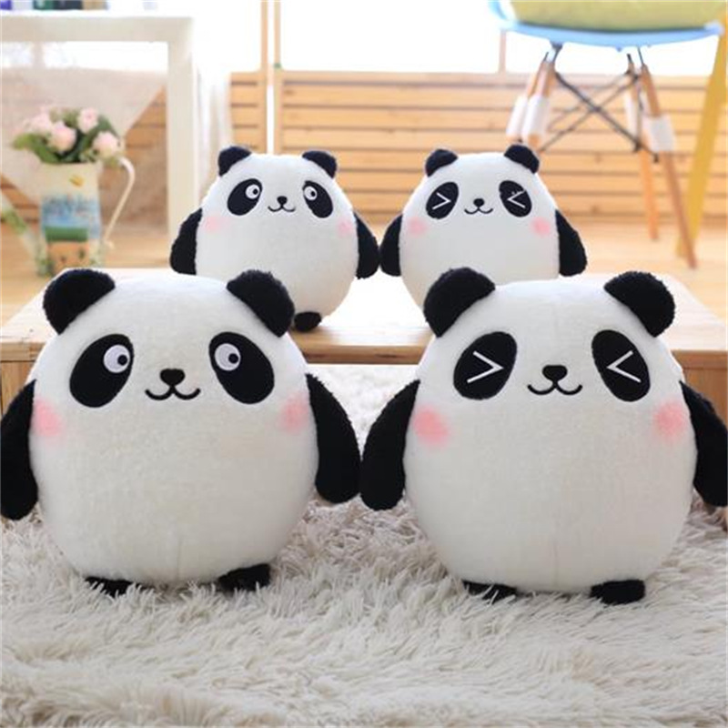 18/30cm Lovely Super Cute Panda Stuffed Toys Soft Baby Kids Animal Plush Mini Panda Gift Dolls Christmas Birthday Gift Toy cute hedgehog animal doll stuffed plush toys birthday christmas gift for children baby kids friend creative kids triver toy