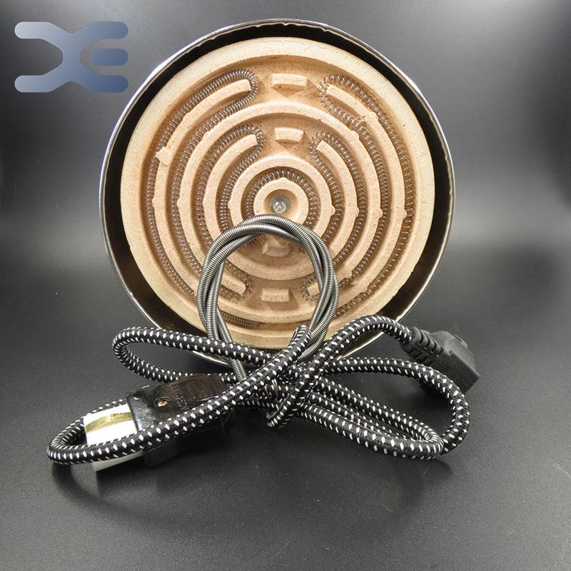 Free Shipping 1000W Hot Plate Cook Stove Electrical Piastra Elettrica Per Cottura Coil Hotplate Plaque Chauffante