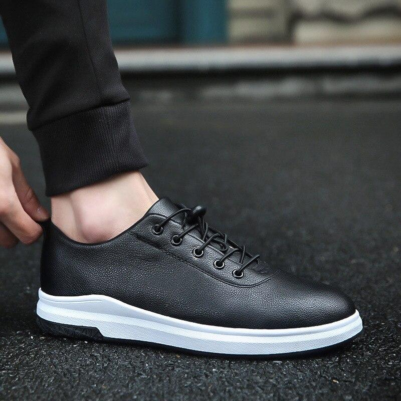 Negro Masculines A2333 Spring b Pu Fresco Lace Autumn Zapatos Hombres A Cresfimix Los Up c Moda amp; Chaussures p5wqxn67