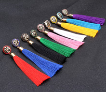 Women Tassel Earrings Boho Bohemian