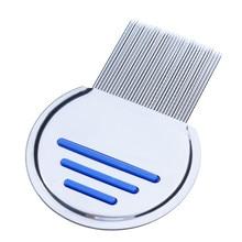Stainless Steel Kids Hair Terminator Lice Comb Nit Rid Headlice Super Density Teeth Remove Pet Comb Styling Tools