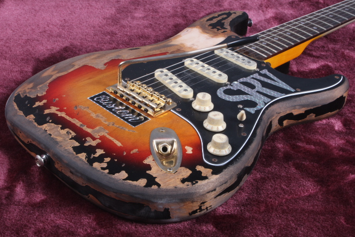custom shop limited edition Masterbuilt srv stevie ray vaughan tribute  electric guitar free shipping custom shop tl electric guitar classical tele 53 relics yellow milk color relic by hands high quality limited issue signature