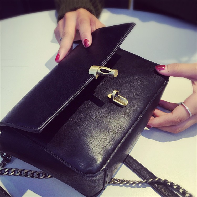 2015 New Fashion Women Bag Leahter Handbags Small Messenger Bolsa Feminina Crossbody Shoulder Bags  Bolsos Famous Brands Lady 3