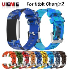 Silicone Replacement Watch Band For Fitbit Charge 2 Heart Rate Smart Wristband Bracelet Wearable Belt Strap For Fitbit Charge2 цена в Москве и Питере