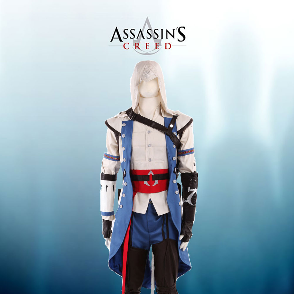 Assassin s Creed 3 Connor Cosplay Costume Tailor Made Full Set