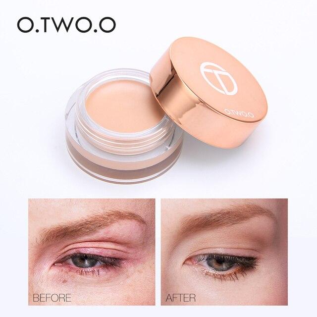 O.TWO.O 4 Colors Eyeshadow Primer Eyes Foundation Cream Long-lasting Waterproof Brightening Concealer Eyes Base Make Up Primer 3