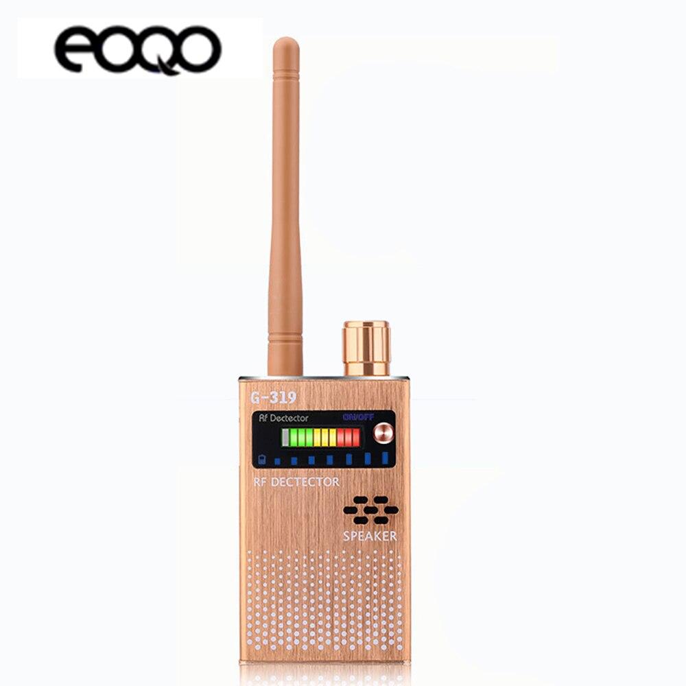 Détecteur de caméra détecteur de Signal RF sans fil détecteur de Signal GPS caméra détecteur de Signal GSM dispositif d'écoute Radio Scanner détecteur de Signal
