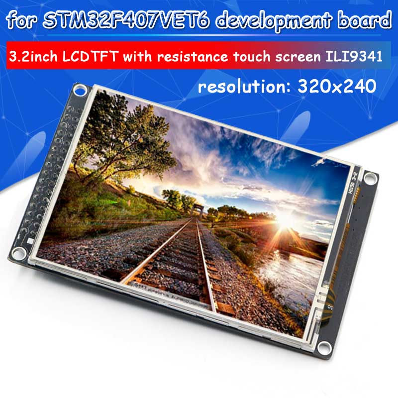 3.2 inch TFT LCD screen with resistive touch screens ILI9341 display module3.2 inch TFT LCD screen with resistive touch screens ILI9341 display module
