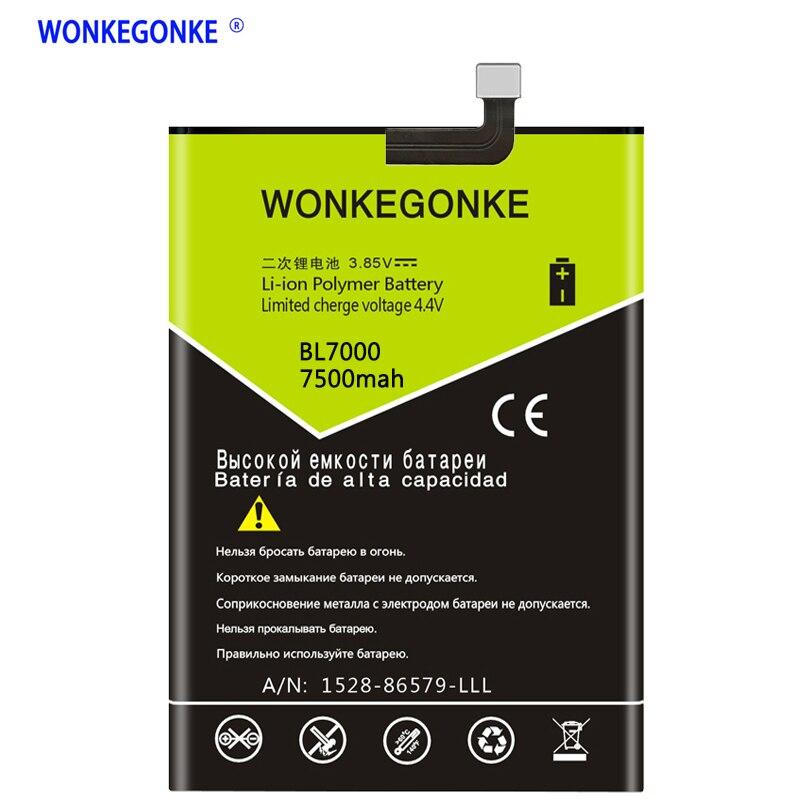 WONKEGONKE para DOOGEE BL7000 batería con número de seguimiento