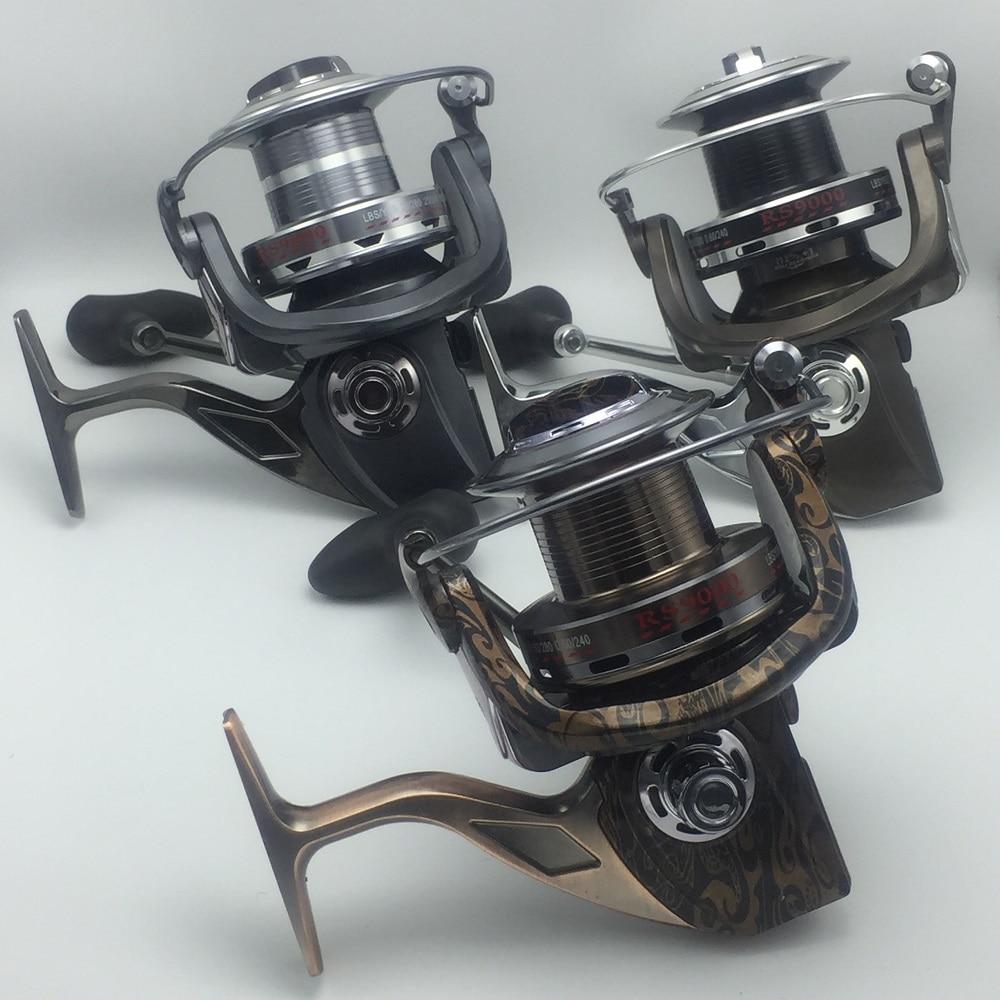 DEBAO Metal Coil Long Shot Big Spinning Sea Fishing Reel Stainless Steel Wheel Feet 13BB 3 Color mp620 mp622 mp625 projector color wheel mp620 mp622 mp625