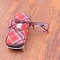 Nueva venta caliente de la manera de las mujeres gafas de presbicia gafas de Lectura Reader con gafas de color de la flor caja de Regalo Idea para monther 1031