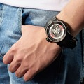 2020 дизайнерские Риф Тигр/RT роскошные мужские спортивные часы водонепроницаемые черные часы механические Военные часы Reloj Hombre RGA30S7