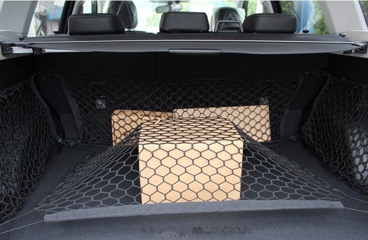 Car trunk net. Convenient for fixed goods. for JEEP Compass Patriot Rubicon Grand CHEROKEE Renegade FOR BMW KIA AUDI STICKER hochitech single color under car body light led rock light waterproof for jeep wrangler compass cherokee renegade rand cherokee