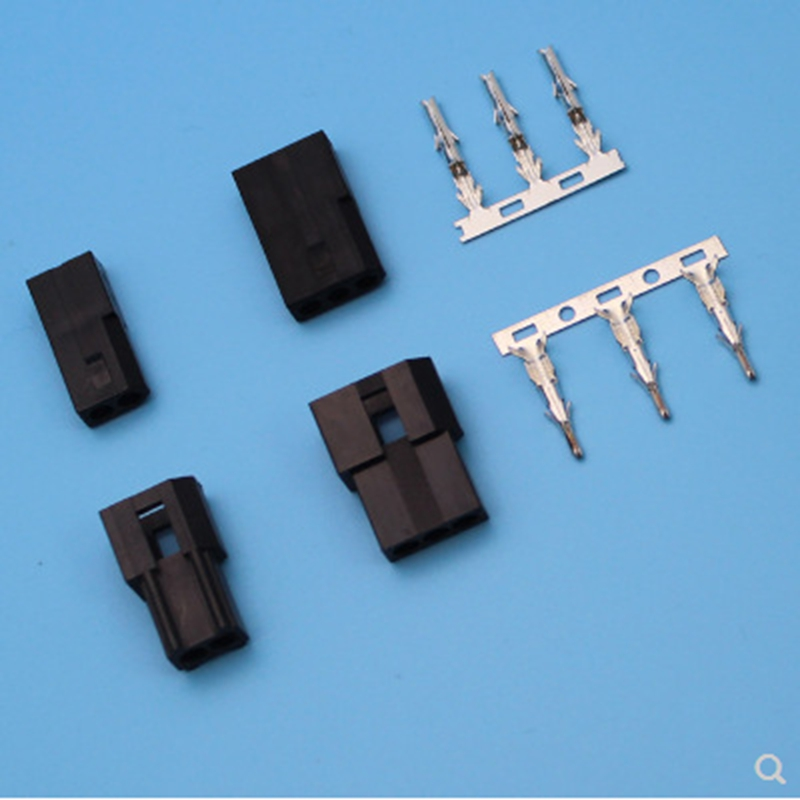 5 sets terminals connectors 3.0mm space pitch connectors Strip connector 55005600-2P 3P automotive wiring harness a
