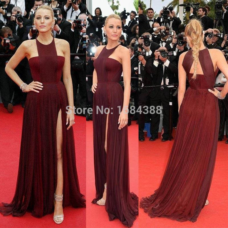 2015 Sexy Gossip Girl Blake Lively In Cannes Roter Teppich Promi ...